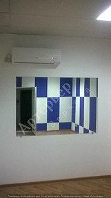 Зеркало в помещении, г.Алматы. Раскрой, обработка, доставка и монтаж.  3