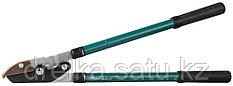 Сучкорез RACO с телескоп.ручками, 2-рычажный, с упорной пластиной, рез до 38 мм, 630 мм - 950 мм