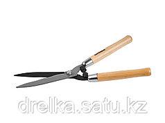 Кусторез ручной GRINDA 40252_z01, деревянные ручки, 500 мм