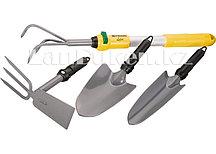 Садово-посадочный набор (5 предметов) со съёмной ручкой PALISAD LUXE 63032 (002)