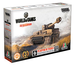 Сборная модель: World of Tanks. Pz/Kpfw/VI TIGER I/