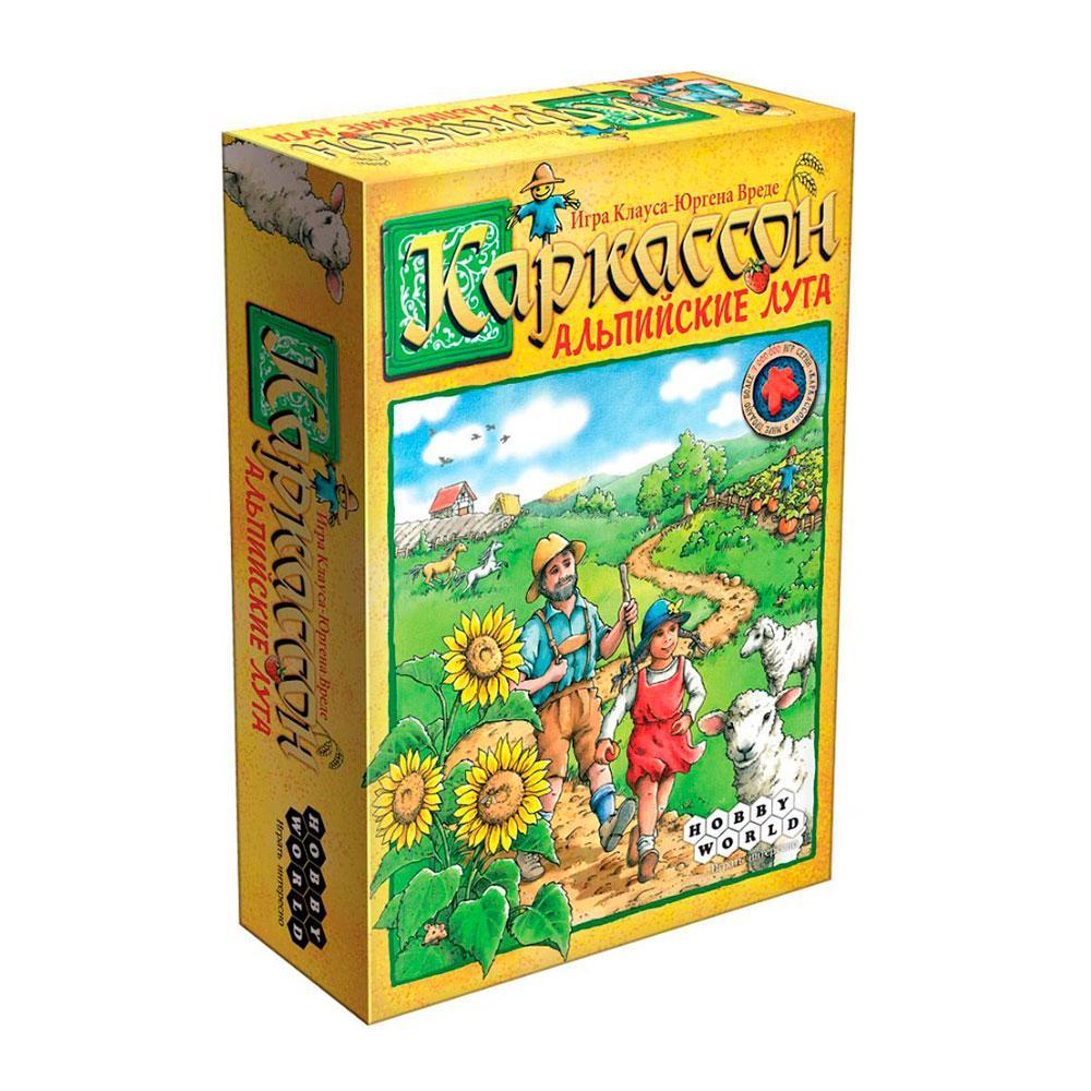 Настольная игра: Каркассон. Альпийские Луга