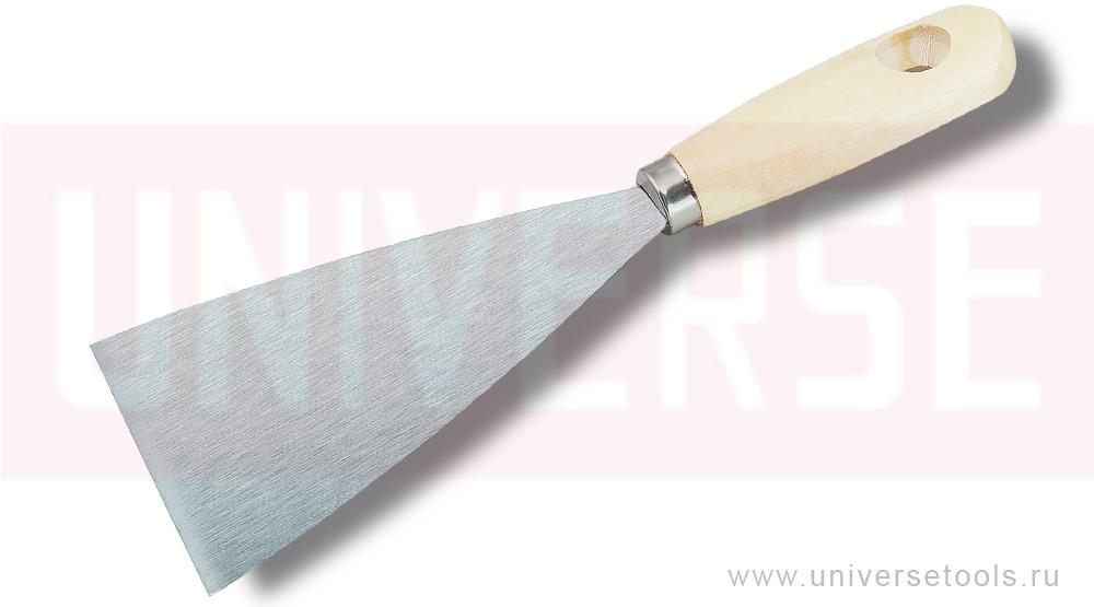 Шпатель малярный, стальной, 80 мм
