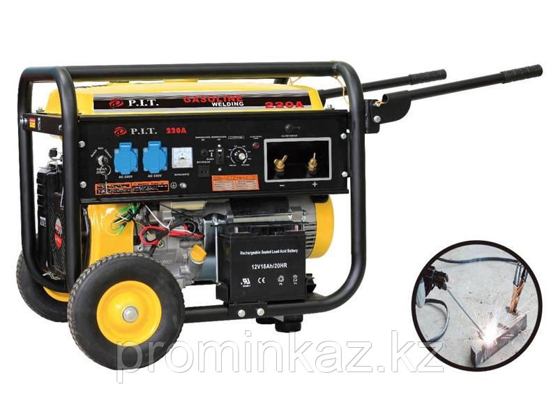 Сварочный генератор бензиновый P.I.T. 5,5 кВт, 220А