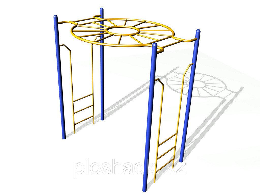 Рукоход круговой, металлический