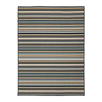 Ковер безворсовый д/дома/улицы КЭРБЭК 170х240 разноцветный ИКЕА, IKEA, фото 1