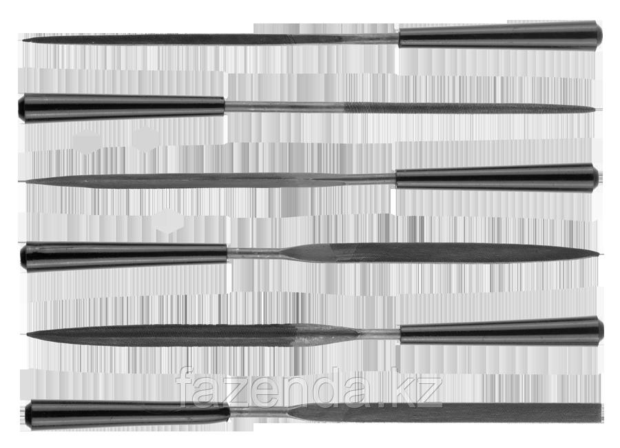 Поиск Набор  Надфили с пластмассовой ручкой, 100мм, 6шт