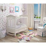 """Кровать детская """"Вэлла 3"""" (Базовая + маятник с ящиком) Можгинский лесокомбинат(белая,слон.кость), фото 2"""