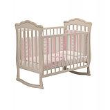 """Кровать детская """"Вэлла 3"""" (Базовая + маятник с ящиком) Можгинский лесокомбинат(белая,слон.кость), фото 3"""