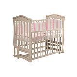 """Кровать детская """"Вэлла 3"""" (Базовая + маятник с ящиком) Можгинский лесокомбинат(белая,слон.кость), фото 5"""