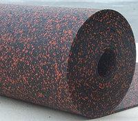 Рулонные резиновые покрытия 6 мм EcoStep Fitness