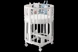 """Детская Овальная кроватка 6 в 1 """"Эстель""""Можгинский лесокомбинат(белая,сл.кость), фото 2"""