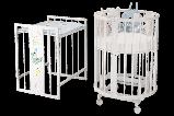 """Детская Овальная кроватка 6 в 1 """"Эстель""""Можгинский лесокомбинат(белая,сл.кость), фото 6"""
