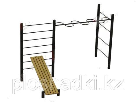 """Спортивный комплекс """"Варкаут"""", лестница спортивная, рукоход, шведские стенки"""