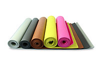 Коврик для йоги (йога мат,каремат) и фитнеса (с сумкой). 3 мм