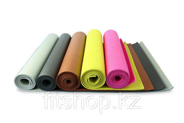Коврик для йоги (йога мат,каремат) и фитнеса (с сумкой). 3 мм - фото 1