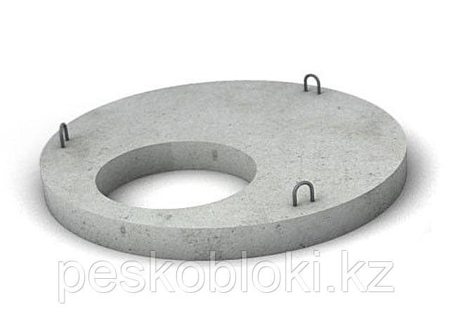 1,5м, крышки колодцев в Астане, колодезные крышки, плиты перекрытия, ПП-15