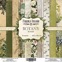 "Набор бумаги ""Botany summer"", 30,5 Х 30,5 см"