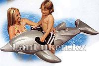 Детский надувной плотик Дельфин INTEX 175* 66 см (58535 NP)