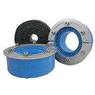 Roxtec PPS single-side sealings, acid proof stainless steel fittings with core RS PPS/S 31 AISI 316