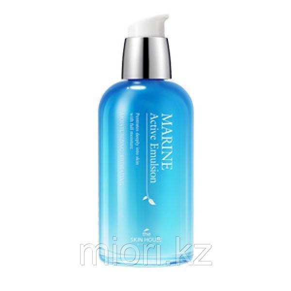 Увлажняющяя эмульсия с морской водой и водорослями The Skin House Marine Active Emulsion,130мл