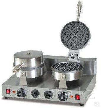 Вафельница промышленная для треугольных вафель  двойная