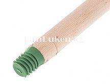 Деревянный черенок для метлы с пластиковой резьбой высшего сорта 25х1250 мм 68416 (002)