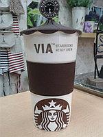 Термокружка Starbucks VIA коричневая, 320 мл