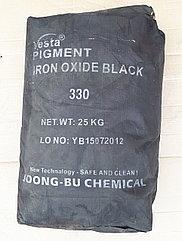 Железооксидный пигмент черный (мокрый асфальт) 330