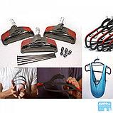 Универсальные вешалки для одежды ( Hula hanger ) 15шт, фото 2
