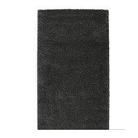 Ковёр длинный ворс ОДУМ  80х150 темно-серый ИКЕА, IKEA , фото 1