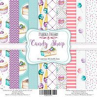 """Набор бумаги """"Candy Shop"""", 30,5х30,5см"""