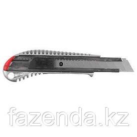 Нож металлический самофиксирующееся лезвие, 18 мм ЗУБР,