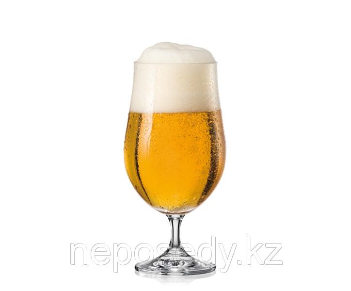 Фужеры BAR 380мл пиво 4шт. богемское стекло, Чехия (40752--380). Алматы