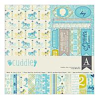 Бумага для скрапбукинга Cuddle Boy, фото 1