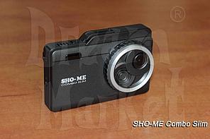 Радар-детектор видеорегистратор Sho-Me Combo Slim