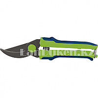 Секатор 22 см с возвратной пружиной и оксидным покрытием, пластиковые ручки СИБРТЕХ 60539 (002)