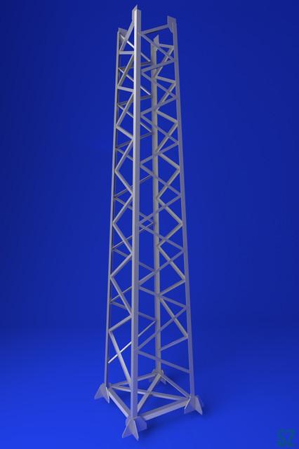 Прожекторные мачты серии ПМС, серия 3.407.9-172