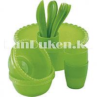 Туристический набор посуды на 4 персоны 21 предмет PALISAD CAMPING 69518 (002)