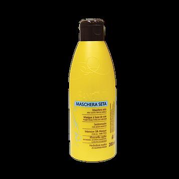 Маска для волос c шелковым протеином и биотином (ополаскиватель) Шелковая Маска