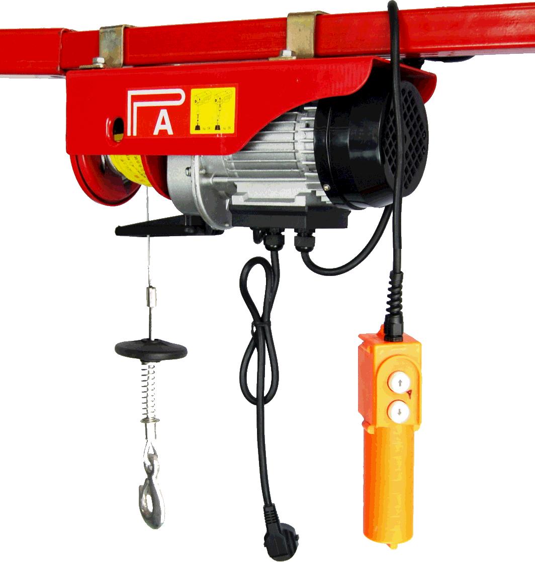 Таль электрические стационарная  РА 500 кг. 6 метров.