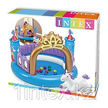 """Детский надувной игровой центр Intex  """"Магический замок"""""""