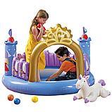 """Детский надувной игровой центр Intex  """"Магический замок"""" , фото 2"""