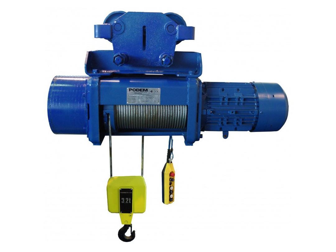 Тельфер электрический 380В CD 1 тонна 9 метров.