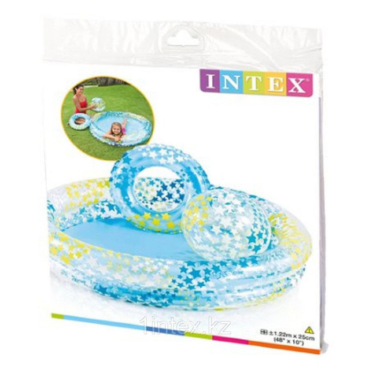 Детский надувной бассейн Intex , 122х25 см