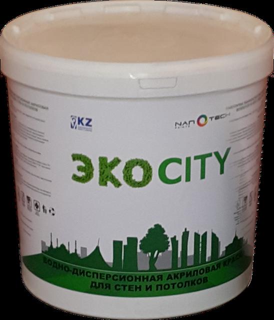Краска водоэмульсионная ЭКОCITY 25 кг (протирающаяся) Grand Victory
