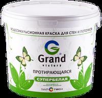 Краска водоэмульсионная GRAND-101 25 кг (протирающаяся) Grand Victory