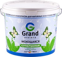 Краска водоэмульсионная GRAND 25 кг (моющаяся) Grand Victory