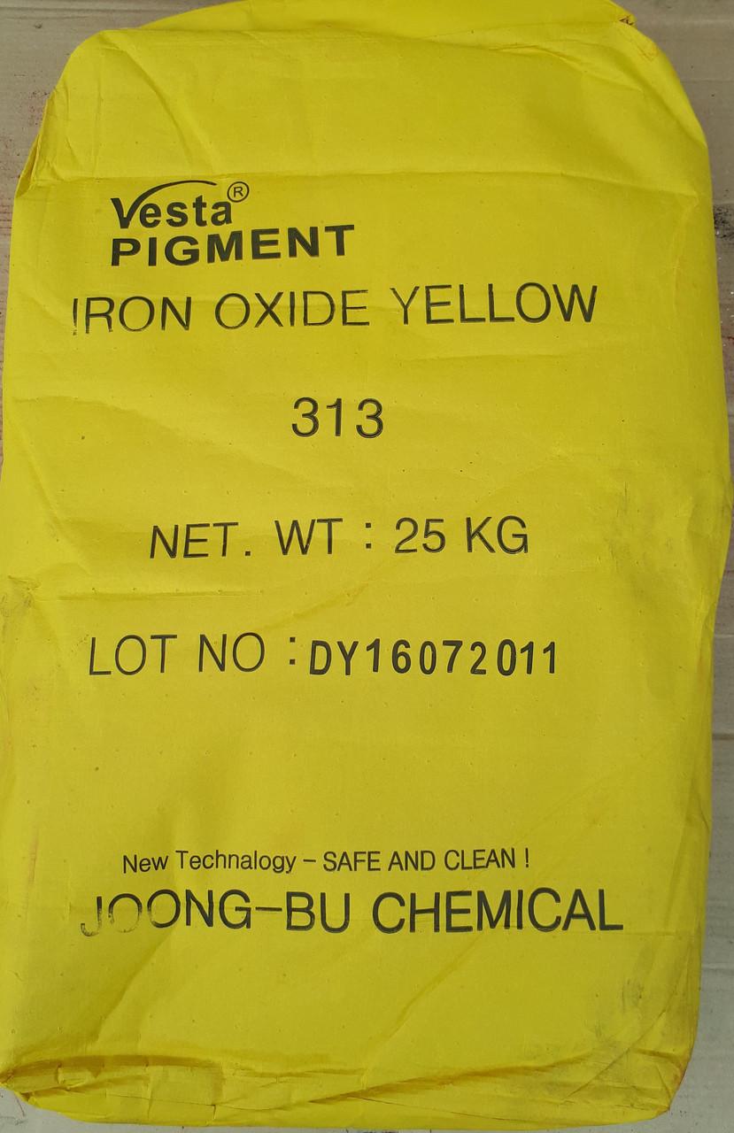 Желтый железооксидный пигмент 313