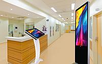 Интерактивные сенсорные панели для поликлиник